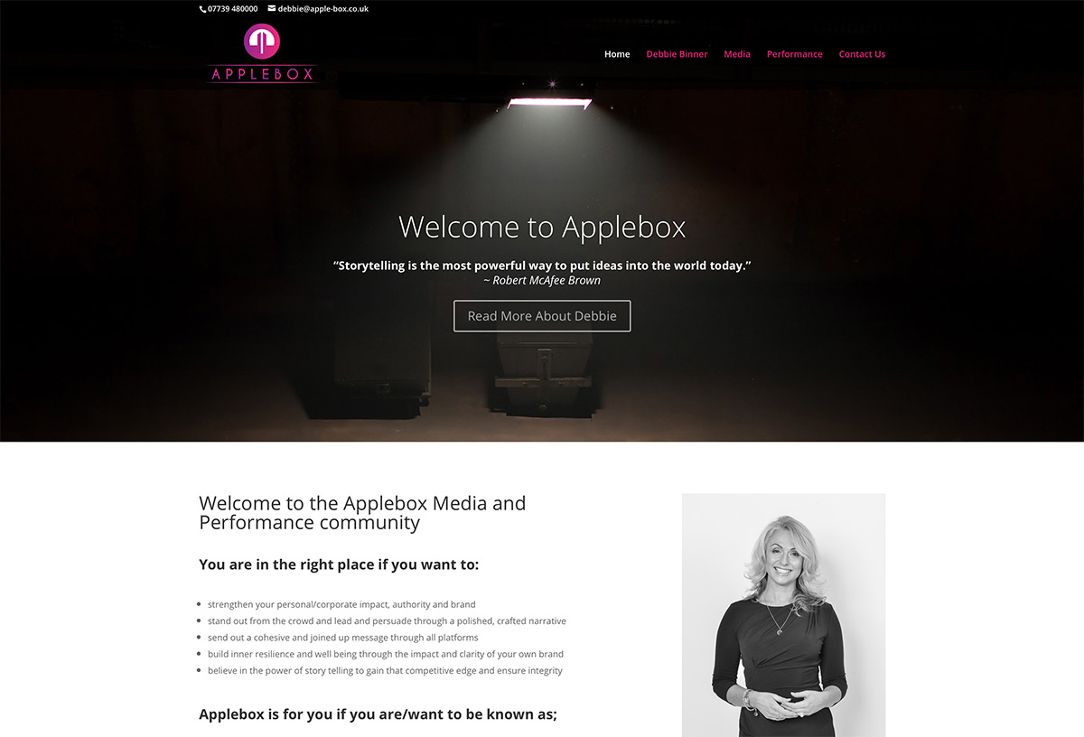 Media Training Website