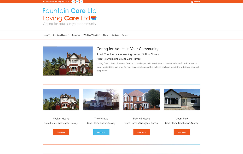 Website Design Wallington