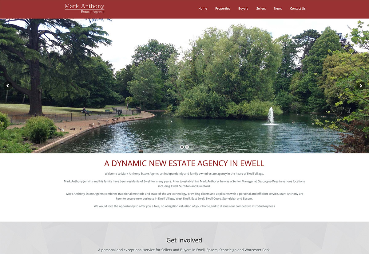 Estate Agents Website Surrey