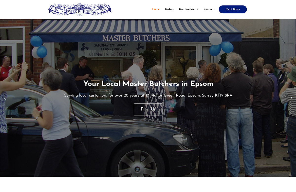 Website Design for Butchers