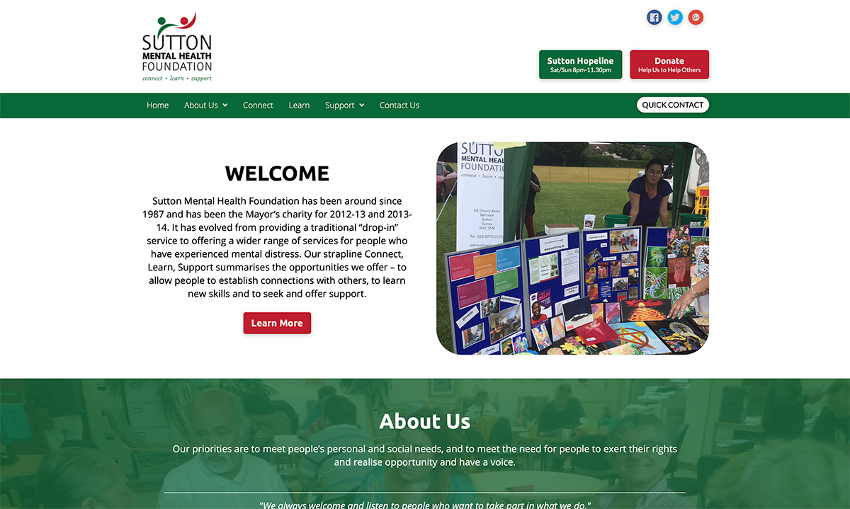 website design sutton, surrey