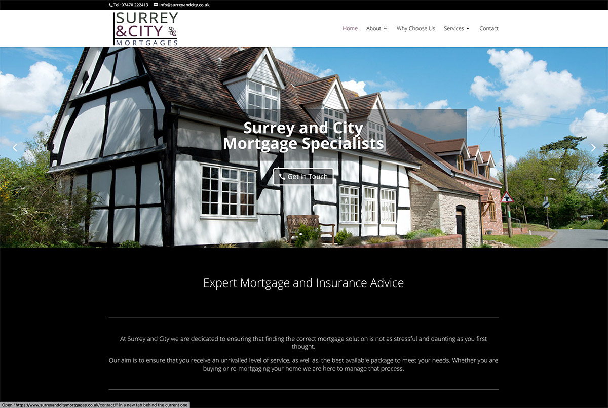 Website Design Mortgage Brokers