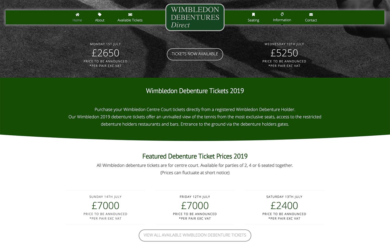 Website Design Wimbledon SW19